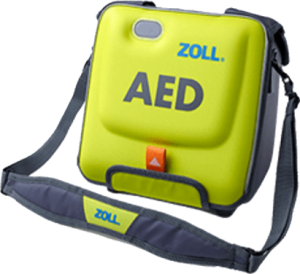 protective carrying case for AED, Zoll